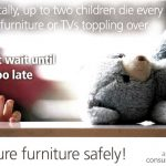 Australien - National Toppling Furniture & Television Safety Strategi