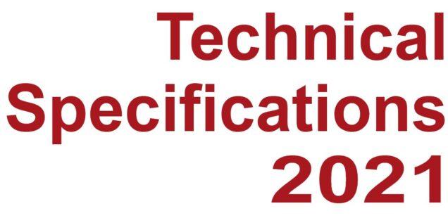 Teknisk protokol 2021 - på engelsk